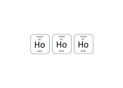 Photograph - Chemistry - Ho Ho Ho  by Richard Reeve