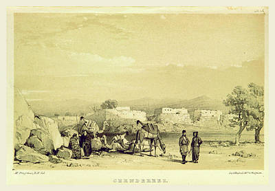 Chendereez, Narrative Of The Euphrates Expedition Art Print by Litz Collection