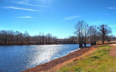 Louisiana Swamp Photograph - Cheniere Lake West Monroe by Ester  Rogers