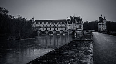 Photograph - Chenonceau In Winter by Alex Lapidus