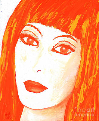 Cher All Or Nothing Art Print
