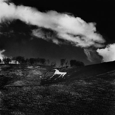 Cherhill White Horse Wiltshire Print by Mark Preston