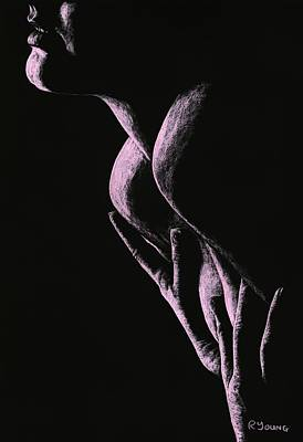 Semi-nude Drawing - Cherish by Richard Young