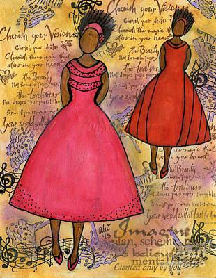 Painting - Cherish The Music... by Angela L Walker