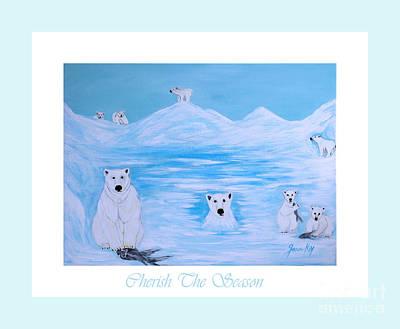 Painting - Cherish The Season by Oksana Semenchenko