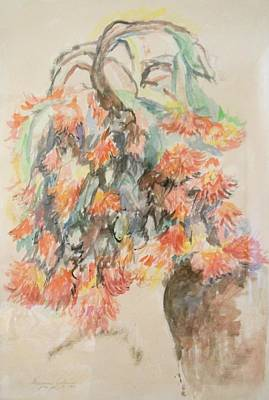 Painting - Cherished Flowers by Esther Newman-Cohen