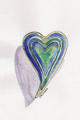 Cherished Heart Art Print