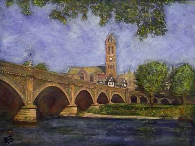 Painting - Cherished Vista - Peebles by Richard James Digance