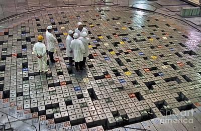 Meltdown Photograph - Chernobyl Reactor Hall 1 by Patrick Landmann