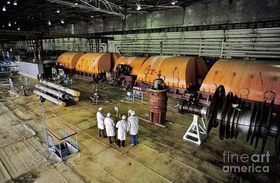 Meltdown Photograph - Chernobyl Turbine Hall by Patrick Landmann