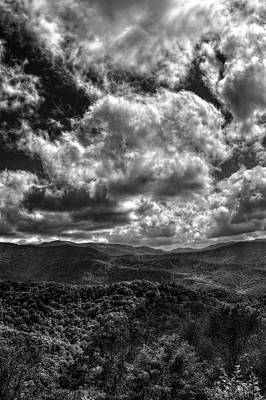 Photograph - Cherohala Skyway In Black And White by Greg Mimbs