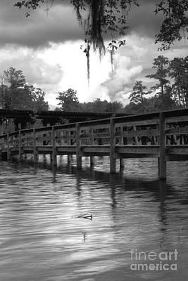 Photograph - Cherokee Lake Boardwalk And Trestle by Ben Sellars