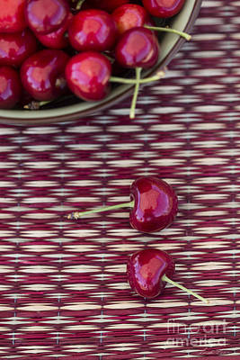 Photograph - Cherries by Linda Lees