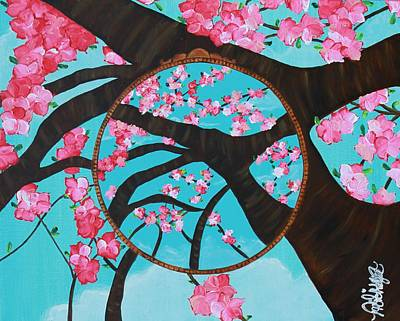 Painting - Cherry Blossom by Aliya Michelle