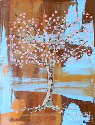 Painting - Cherry Blossom by Jean Fry