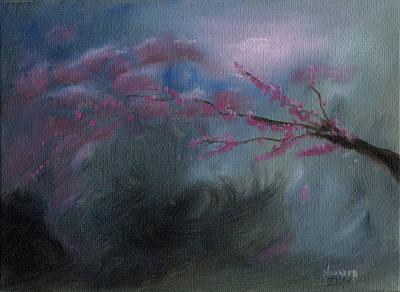Cherry Blossom Original by Luis  Navarro