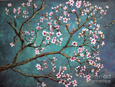 Painting - Cherry Blossom by Nancy Bradley