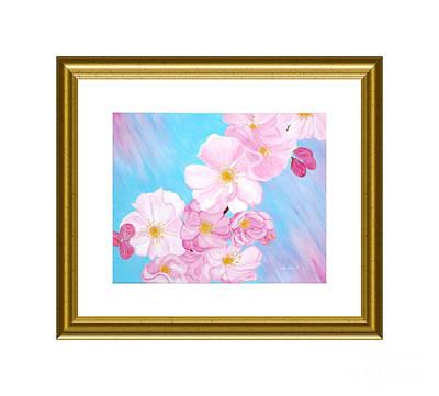 Painting - Cherry Blossom by Oksana Semenchenko
