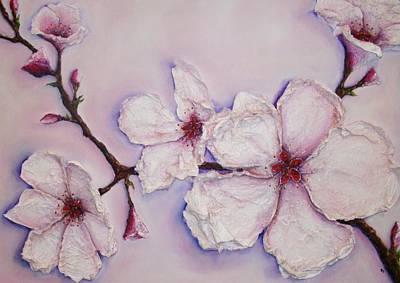Cherry Blossom Original by Sally Johnsons