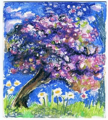 Cherry Blossom Spring. Art Print