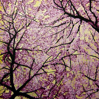 Cherry Blossoms Art Print by Bobby Zeik