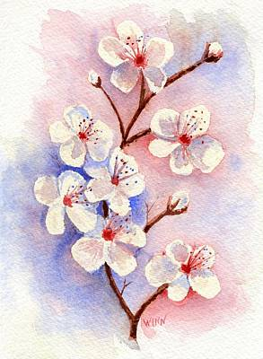 Painting - Cherry Blossoms by Brett Winn