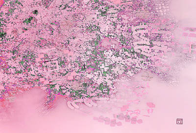 Digital Art - Cherry Blossoms by David Jenkins