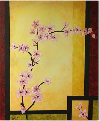 Cherry Blossoms Art Print by Dawn Grice