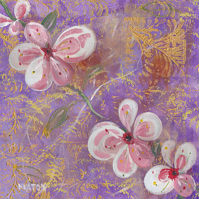 Painting - Cherry Blossoms by John Keaton