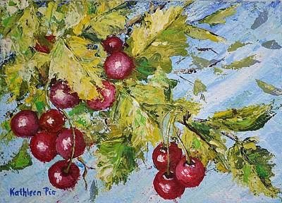 Painting - Cherry Breeze by Kathleen Pio