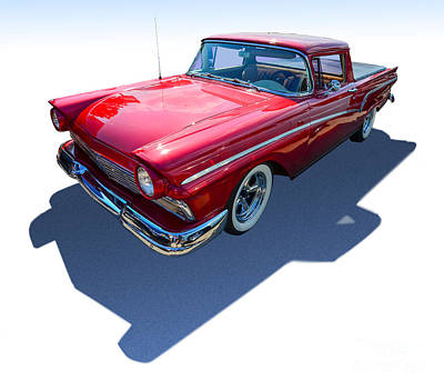 Photograph - Cherry Classic Car by Anthony Sell