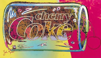 Cherry Coke 5 Art Print by John Keaton
