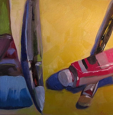 Comfort Painting - Cherry Cordial by Kari Melen