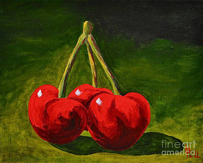 Still Life Royalty-Free and Rights-Managed Images - Cherry Delight by Herschel Fall