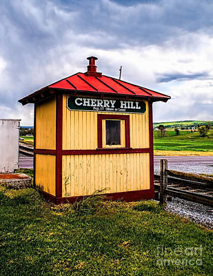 Photograph - Cherry Hill Stop by Nick Zelinsky