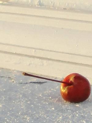 Cherry In The Spotlight Art Print by Guy Ricketts