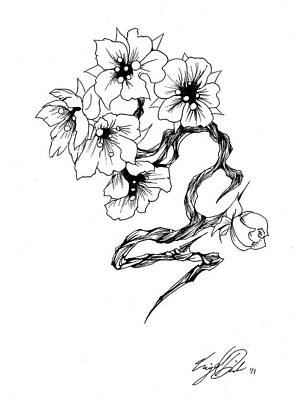 Drawing - Cherry by Miguel Karlo Dominado
