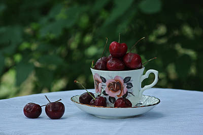 Photograph - Cherry Tea by Robyn Stacey