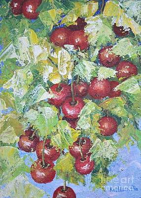Cherry Pie Mixed Media - Cherry Time by Kathleen Pio