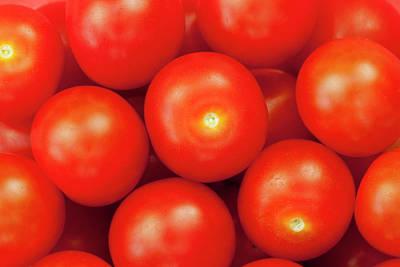 Cherry Tomatoes Art Print by Andrew Dernie