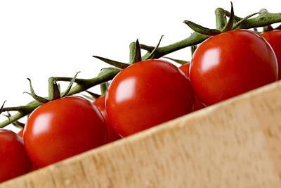 Cherry Tomatoes Art Print by Nicole Neuefeind