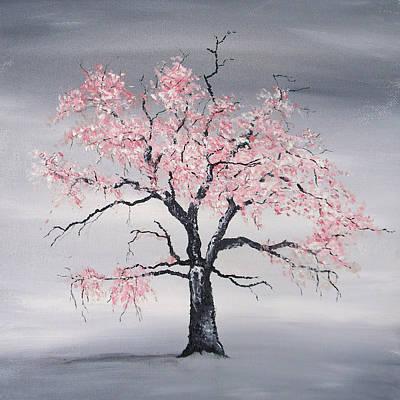 Cherry Tree Original by Sabrina Zbasnik