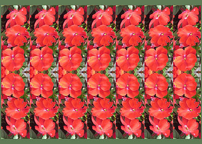Painting - Rights Managed Images For Download Decorative Graphic Flower Patterns  Navinjoshi   Graphic Design I by Navin Joshi