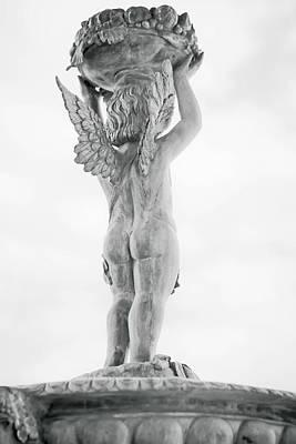 Photograph - Cherub Lifting by Melinda Ledsome