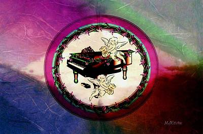 Digital Art - Cherub Songs by Mary Anne Ritchie