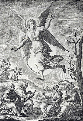 Cherubim, Heavenly Counselors Print by Folger Shakespeare Library