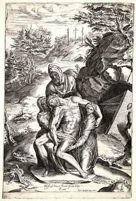Cherubino Alberti Italian, 1553-1615 After Michelangelo Art Print