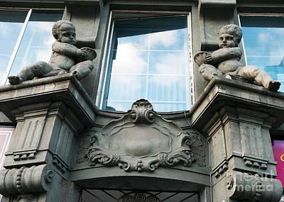 Photograph - Cherubs In Prague by John Rizzuto