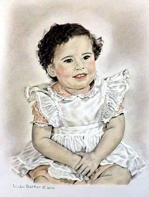 Painting - Cheryl Jeanne by Linda Becker
