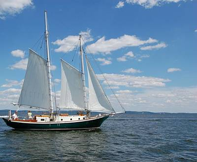 Photograph - Chesapeake Bay Schooner by Christopher James